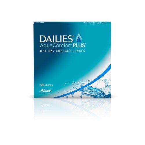 Soczewki kontaktowe, DAILIES AquaComfort Plus 90szt.