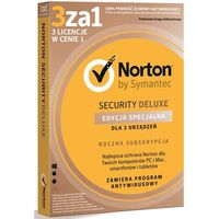 Oprogramowanie antywirusowe, Program SYMANTEC Norton Security Deluxe 3.0 PL (3 stan. 12 mies.)