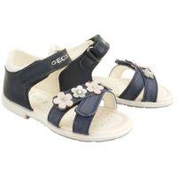 Sandały dziecięce, GEOX B9221C BABY VERRED 0BCLG C4002 navy, sandały dziecięce, rozmiary: 24-27