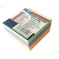 Karteczki samoprzylepne 50x50 mm 250K. 80811 mix