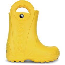 Crocs Handle It Kalosze Dzieci żółty 22-23 2019 Kalosze