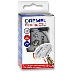 SPEEDCLIC SYSTEM DREMEL - 2615S456JC - ZESTAW TARCZ SCLIC DO METALU/5 TARCZ DO CIĘCIA 38MM,1,25MM