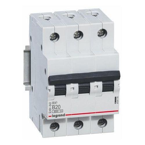 Włączniki, Wyłącznik nadprądowy Legrand 3P-B20A