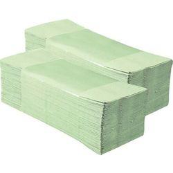 Pojedyncze ręczniki papierowe Merida Classic, 1 warstwa, makulatura jasnozielona - 20 bind