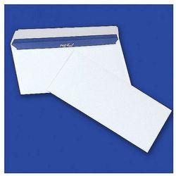 Koperty DL HK białe samoklejące z paskiem 80g szary poddruk, 1000szt. 11232010