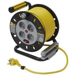 Przedłużacz bębnowy Diall 4 x 16 A 3 x 1,5 mm2 25 m