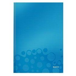 Brulion Leitz Wow A4 80 kratka twarda oprawa niebieski 46261036