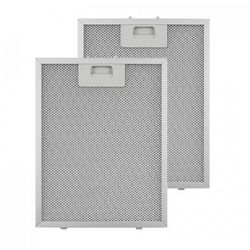 Klarstein Filtr aluminiowy przeciwtłuszczowy 24,4 x 31,3cm fitr wymienny 2 szt. wyposażenie