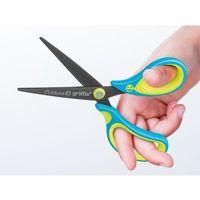 Nożyczki, Nożyczki Griffix ergonomiczne szpiczaste neon blue