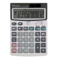 Kalkulatory, Kalkulator Vector CD-2442T - Super Ceny - Kody Rabatowe - Autoryzowana dystrybucja - Szybka dostawa - Hurt - Wyceny