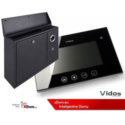 Zestaw VIDOS skrzynka na listy z wideodomofonem. Monitor 4,3'' S551-SKN_M670B