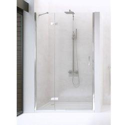 NEW RENOMA Drzwi prysznicowe 90x195 LEWE, szkło czyste + Active Shield D-0097A * wysyłka gratis!