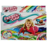 Pozostałe zabawki edukacyjne, Zabawka SWEDE Mata do kolorowania Motyw dinozaurów