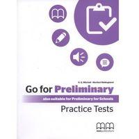 Książki do nauki języka, Go For Preliminary. Practice Tests SB + CD-ROM (opr. broszurowa)