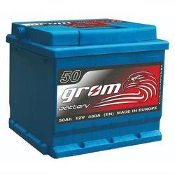 Akumulator Grom Prestige 12V 50Ah/480A niski