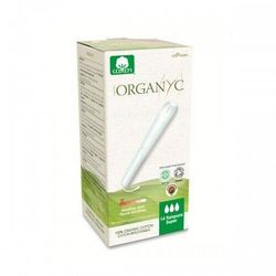ORGANYC Tampony higieniczne z aplikatorem Super 14szt.