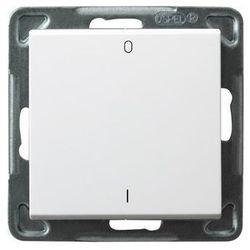 Wyłącznik dwubiegunowy Ospel Sonata ŁP-11R/M/00 16AX IP20 biały