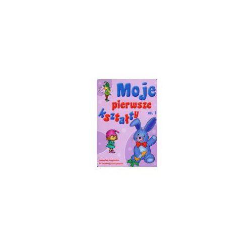 Książki dla dzieci, Moje pierwsze Kształty 1. zmywalna książeczka do wczesnej nauki pisania (opr. miękka)