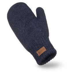 Rękawiczki damskie PaMaMi - Granat melanż