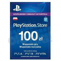 Klucze i karty przedpłacone, Sony Doładowanie PlayStation Network 100 zł [kod aktywacyjny]