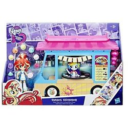 My Little Pony EG Mini Zestaw Sushi Truck Sunset Shimmer - Hasbro