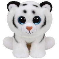 Pluszaki pozostałe, Maskotka TY INC Beanie Boos Tundra - biały tygrys 15cm 42106
