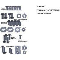 Pozostałe akcesoria do motocykli, KEITI KYA-64 ZESTAW ŚRUB DO YAMAHA 10-13 YZ 250F 12-14 WR 450F