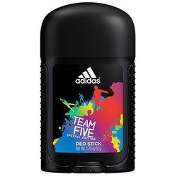 Adidas Team Five 53 ml dezodorant w sztyfcie - blisko 700 punktów odbioru w całej Polsce! Szybka dostawa! Atrakcyjne raty! Dostawa w 2h - Warszawa Poznań