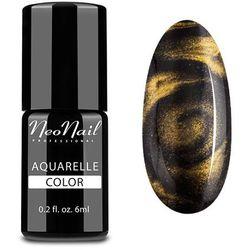 Lakier Hybrydowy 6 ml - Gold Aquarelle