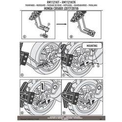 Kappa rm1121kitk mocowanie błotnika krm01 i krm02 honda
