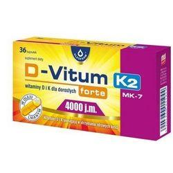 D-Vitum forte K2 (4000IU / 100mcg) 60 kaps.