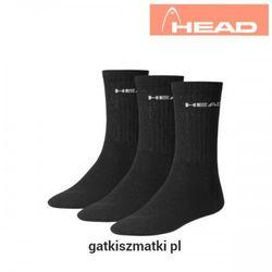 Skarpety HEAD Crew Frotte czarne