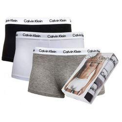 Bokserki Underwear Calvin Klein 3-Pack Szare Białe Czarne