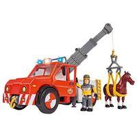 Figurki i postacie, Strażak Sam Pojazd Phoenix z figurką