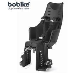 Fotelik rowerowy na tył Bobike Maxi Exclusive - Urban Black