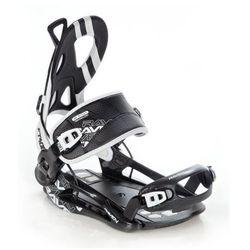 Wiązania snowboardowe Raven FT 400 (black) 2020