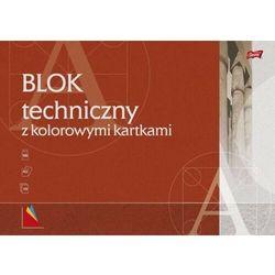 Blok techniczny A3/10 kolorowy [10 szt.]