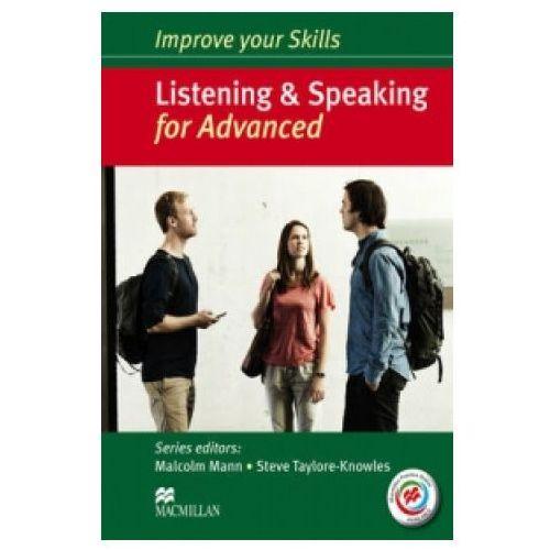 Książki medyczne, Improve Your Skills for Advanced. Listening and Speaking. Podręcznik bez Klucza + Kod Online (opr. twarda)