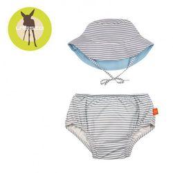 Lassig Zestaw kapelusz i majteczki do pływania z wkładką chłonną Submarine UV 50+