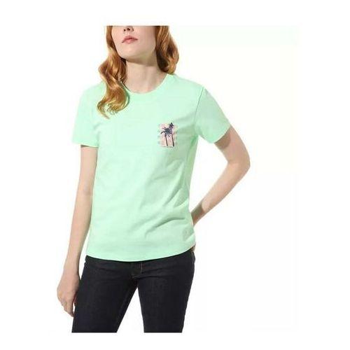 T-shirty damskie, koszulka VANS - Photo Op Green Ash (4SG)
