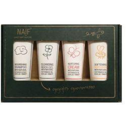 NAIF Box Travel Zestaw kosmetyków dla niemowląt i dzieci 100% naturalne