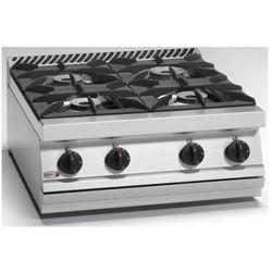 Kuchnia gazowa 4 palnikowa | 27600W
