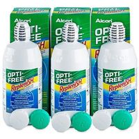 Krople do oczu, Płyn OPTI-FREE RepleniSH 3 x 300 ml