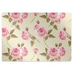 Podkładka pod krzesło obrotowe Podkładka pod krzesło obrotowe Róże angielskie