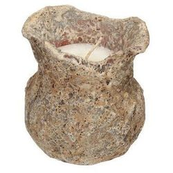Dekoria Świeca kamienna wys. 14cm -50%, 14cm