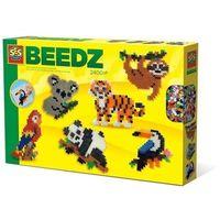 Kreatywne dla dzieci, Koralikowe prasowanki - dzikie zwierzęta w dżungli