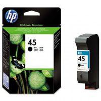 Akcesoria do faksów, HP tusz Black nr 45A, 51645AE