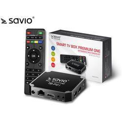 SAVIO SMART TV BOX PREMIUM ONE 2/16 GB TB-P01 TB-P01 - odbiór w 2000 punktach - Salony, Paczkomaty, Stacje Orlen