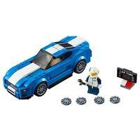 Klocki dla dzieci, Lego SPEED CHAMPIONS Zestawy champions ford mustang gt 75871