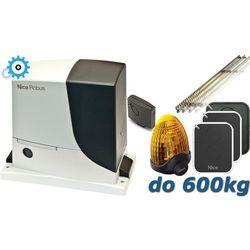 NICE ROBUS 600 XXL do 600kg zestaw automatyki - 5mb listwy zębatej